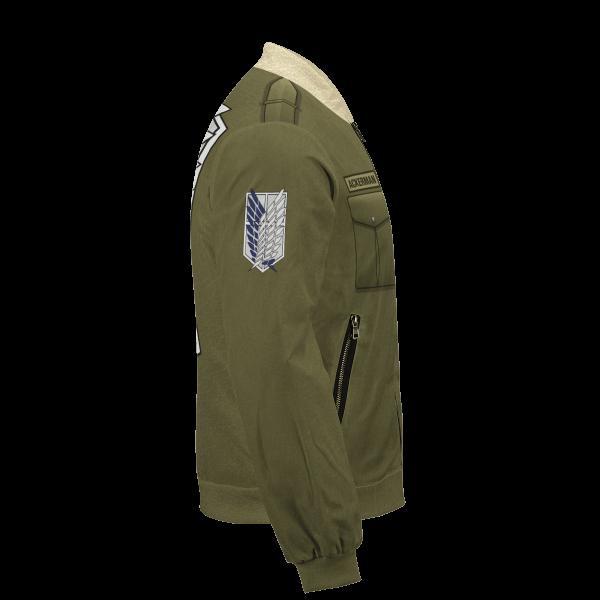 personalized new survey corps uniform bomber jacket 640350 - Anime Jacket