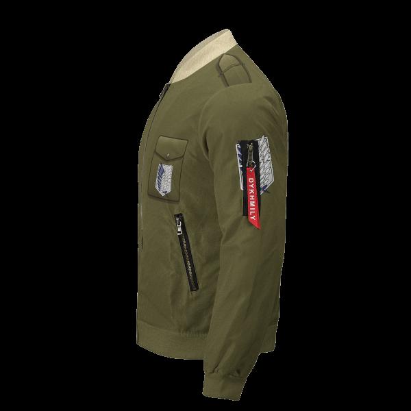 personalized new survey corps uniform bomber jacket 699429 - Anime Jacket
