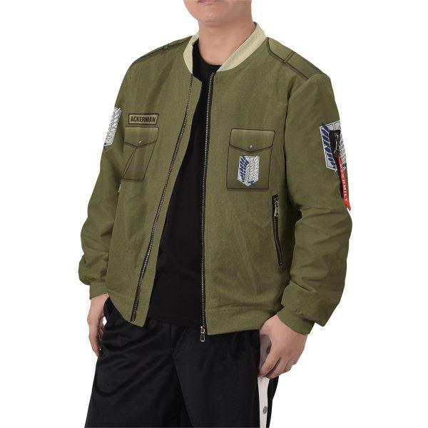 personalized new survey corps uniform bomber jacket 708022 - Anime Jacket