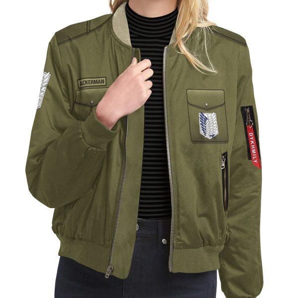 personalized new survey corps uniform bomber jacket 934947 - Anime Jacket