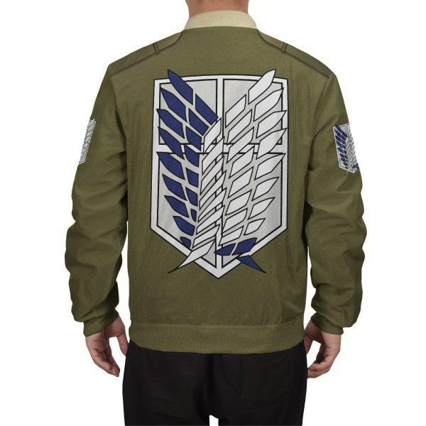 personalized new survey corps uniform bomber jacket 975555 - Anime Jacket