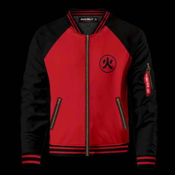personalized ninja academy bomber jacket 469567 - Anime Jacket
