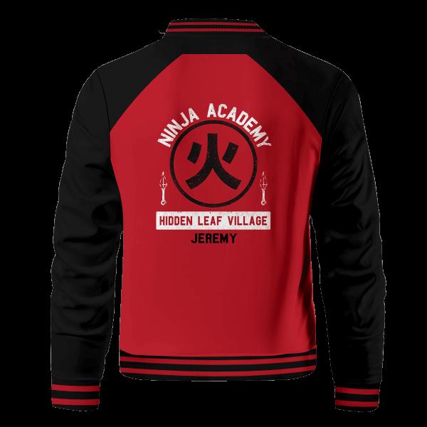 personalized ninja academy bomber jacket 639591 - Anime Jacket