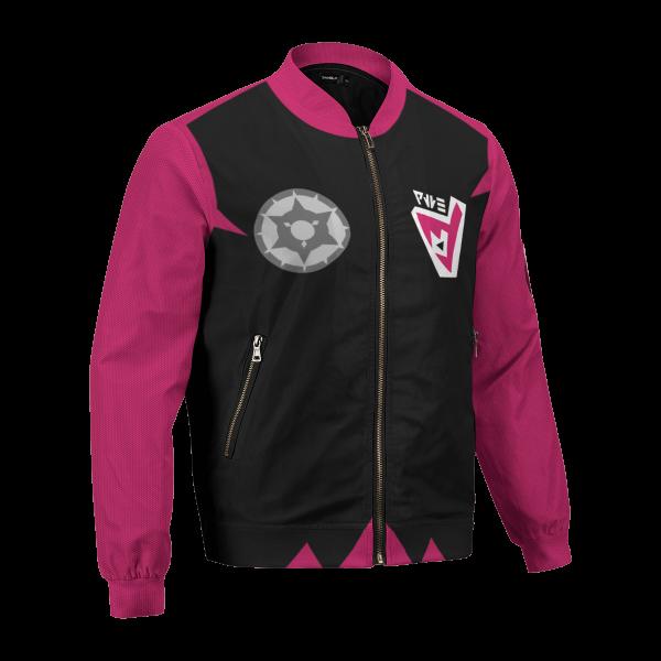 personalized pokemon dark uniform bomber jacket 150077 - Anime Jacket