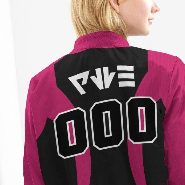 personalized pokemon dark uniform bomber jacket 249562 - Anime Jacket