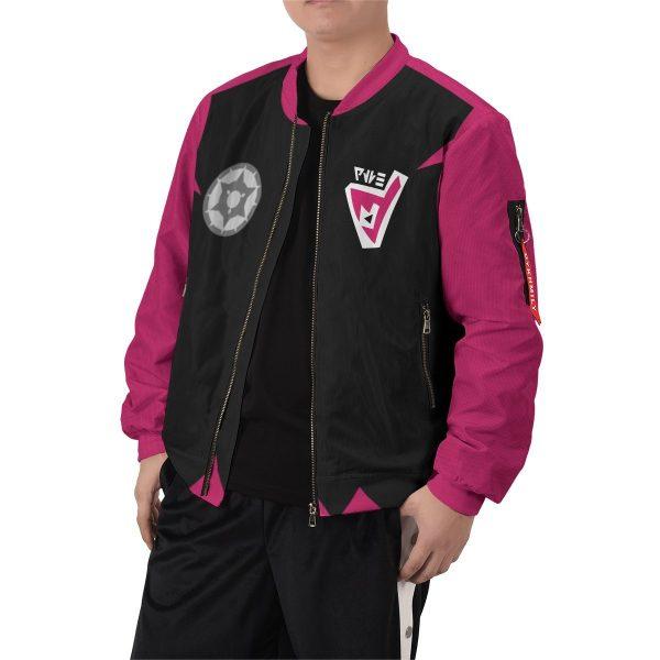 personalized pokemon dark uniform bomber jacket 351219 - Anime Jacket