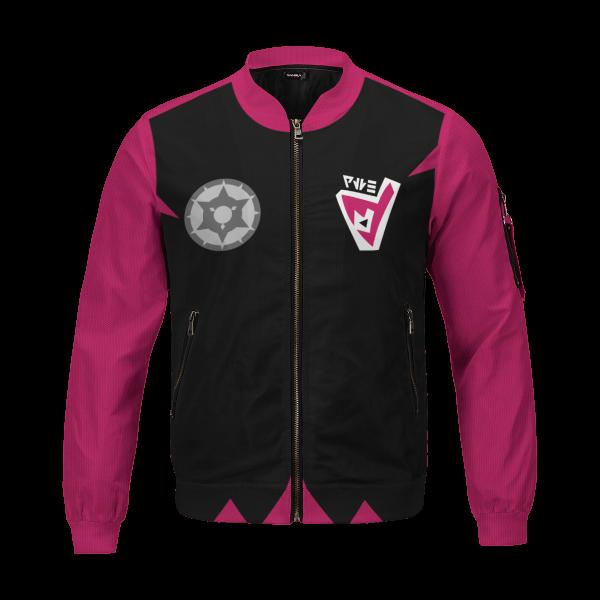 personalized pokemon dark uniform bomber jacket 533313 - Anime Jacket
