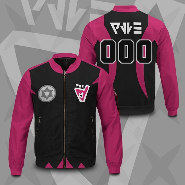 personalized pokemon dark uniform bomber jacket 606446 - Anime Jacket
