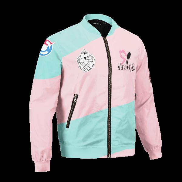 personalized pokemon fairy uniform bomber jacket 310708 - Anime Jacket