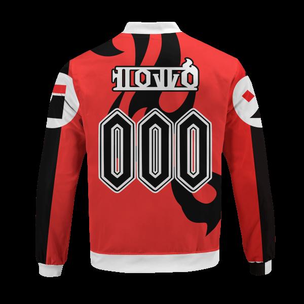 personalized pokemon fire uniform bomber jacket 567569 - Anime Jacket