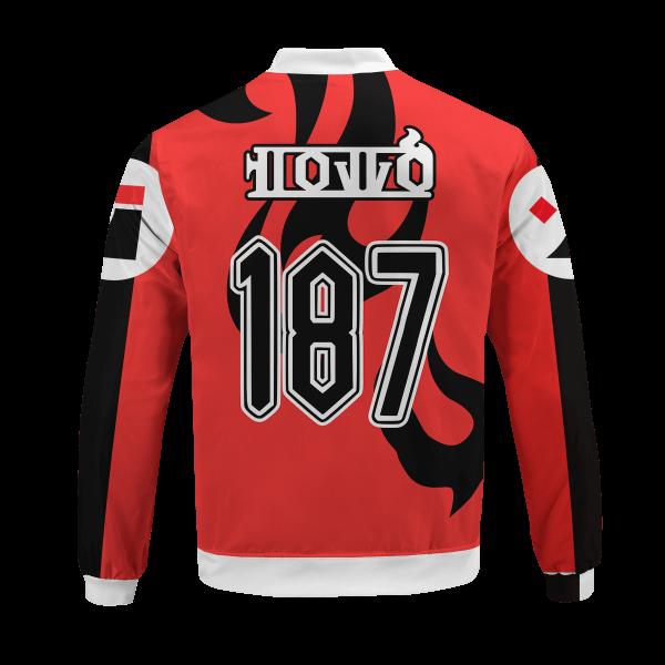 personalized pokemon fire uniform bomber jacket 598234 - Anime Jacket