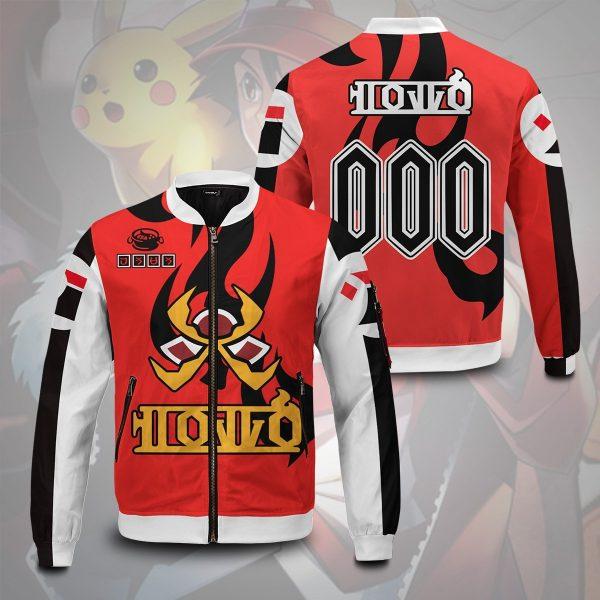 personalized pokemon fire uniform bomber jacket 630537 - Anime Jacket