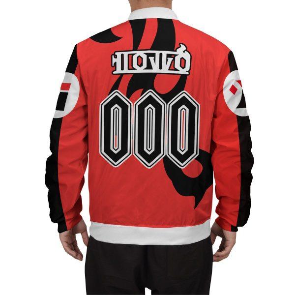 personalized pokemon fire uniform bomber jacket 728955 - Anime Jacket