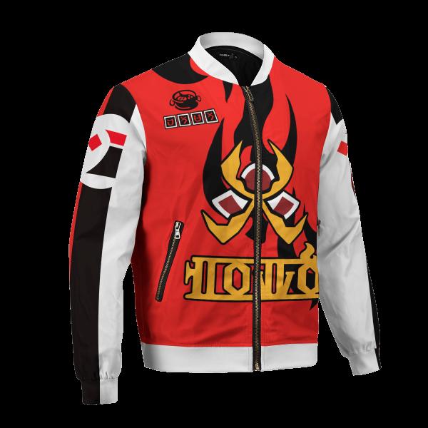 personalized pokemon fire uniform bomber jacket 800045 - Anime Jacket