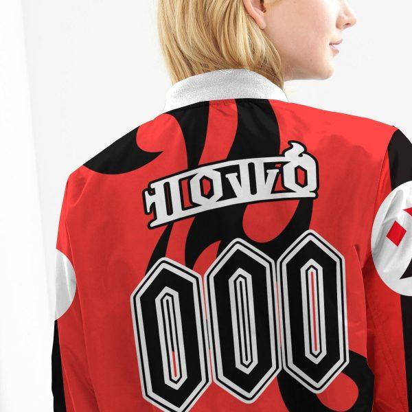 personalized pokemon fire uniform bomber jacket 995566 - Anime Jacket
