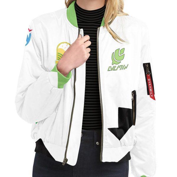 personalized pokemon grass uniform bomber jacket 240968 - Anime Jacket