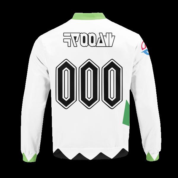 personalized pokemon grass uniform bomber jacket 424487 - Anime Jacket
