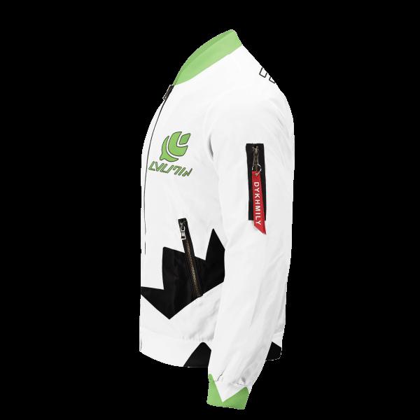 personalized pokemon grass uniform bomber jacket 531504 - Anime Jacket