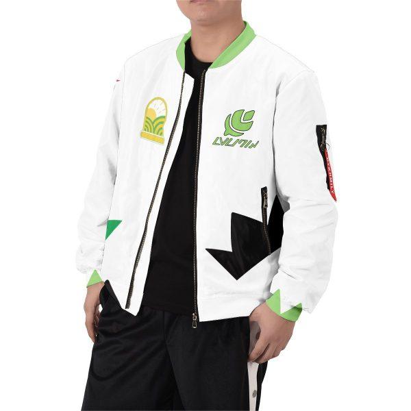 personalized pokemon grass uniform bomber jacket 578356 - Anime Jacket
