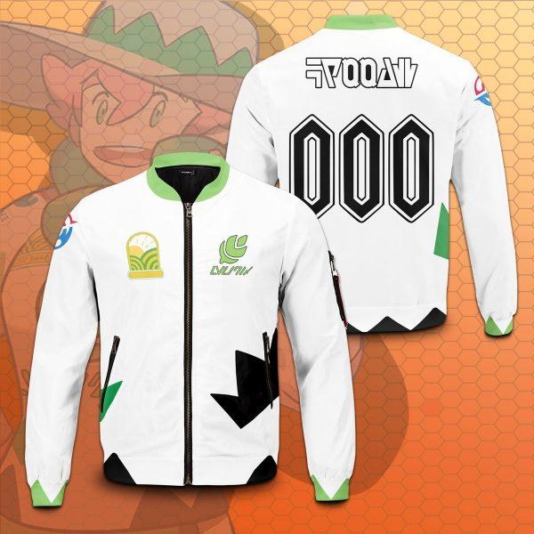 personalized pokemon grass uniform bomber jacket 646471 - Anime Jacket