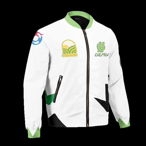 personalized pokemon grass uniform bomber jacket 758101 - Anime Jacket