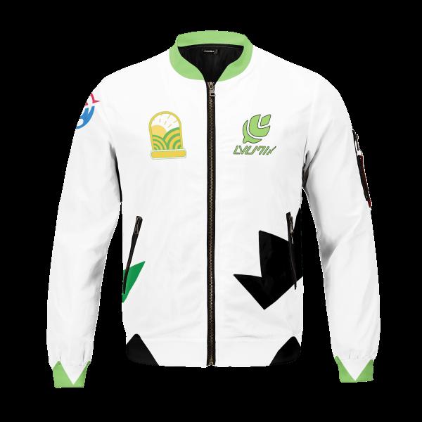 personalized pokemon grass uniform bomber jacket 874785 - Anime Jacket