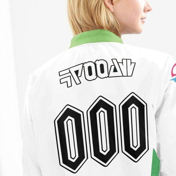 personalized pokemon grass uniform bomber jacket 908217 - Anime Jacket