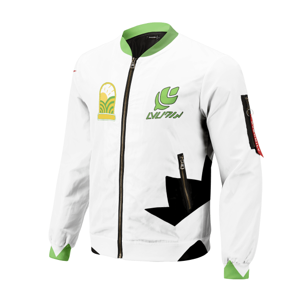 personalized pokemon grass uniform bomber jacket 960512 - Anime Jacket
