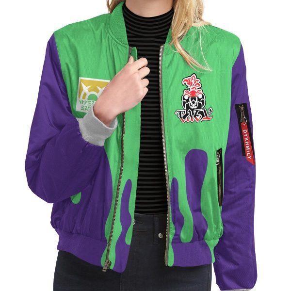 personalized pokemon poison uniform bomber jacket 117833 - Anime Jacket