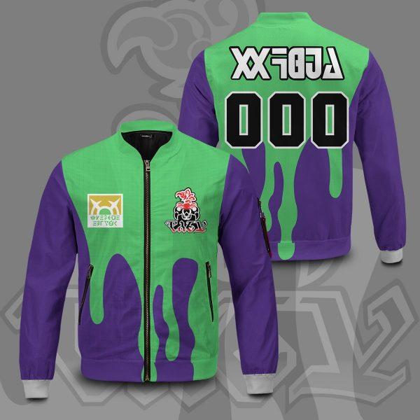 personalized pokemon poison uniform bomber jacket 238284 - Anime Jacket