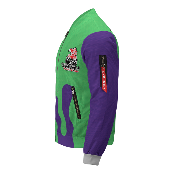 personalized pokemon poison uniform bomber jacket 276805 - Anime Jacket