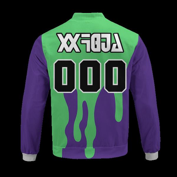 personalized pokemon poison uniform bomber jacket 333494 - Anime Jacket