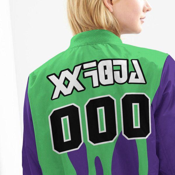 personalized pokemon poison uniform bomber jacket 466910 - Anime Jacket