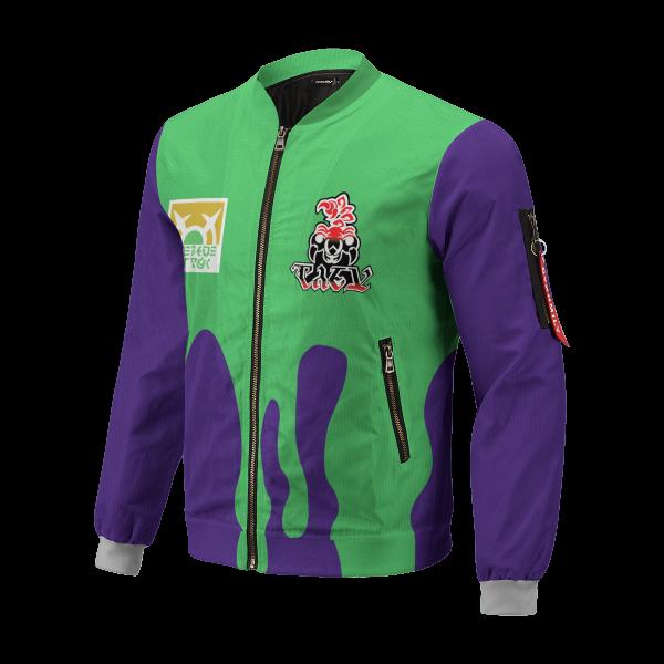 personalized pokemon poison uniform bomber jacket 741240 - Anime Jacket