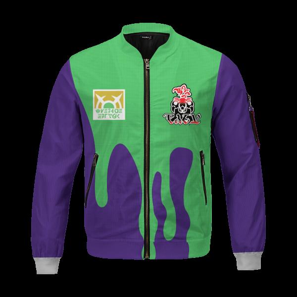 personalized pokemon poison uniform bomber jacket 741498 - Anime Jacket