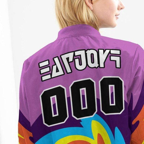 personalized pokemon psychic uniform bomber jacket 220122 - Anime Jacket
