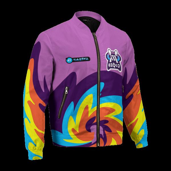 personalized pokemon psychic uniform bomber jacket 908624 - Anime Jacket