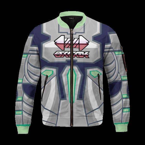 personalized pokemon steel uniform bomber jacket 356984 - Anime Jacket