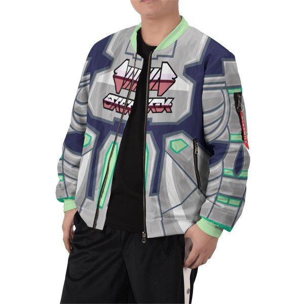 personalized pokemon steel uniform bomber jacket 606506 - Anime Jacket