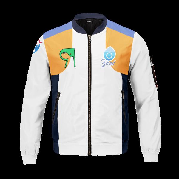 personalized pokemon water uniform bomber jacket 196443 - Anime Jacket