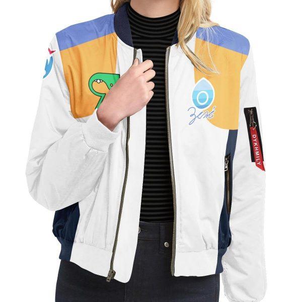 personalized pokemon water uniform bomber jacket 297302 - Anime Jacket