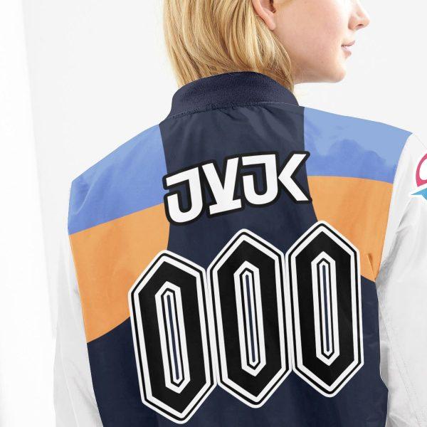 personalized pokemon water uniform bomber jacket 501681 - Anime Jacket