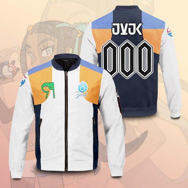 personalized pokemon water uniform bomber jacket 970933 - Anime Jacket
