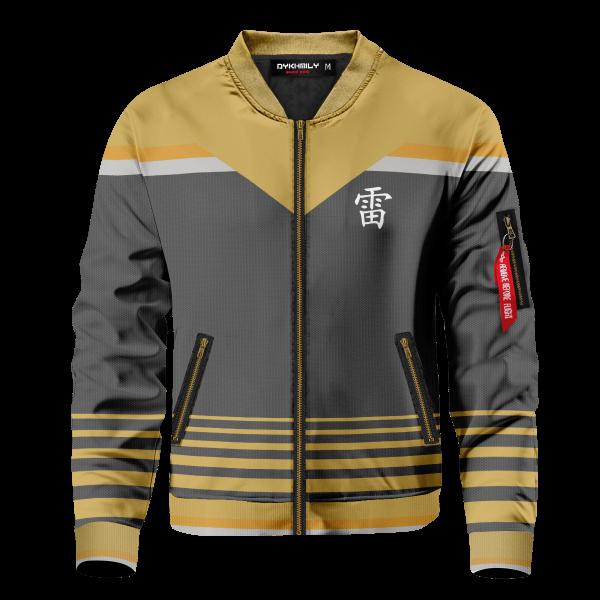 personalized raikage bomber jacket 161975 - Anime Jacket