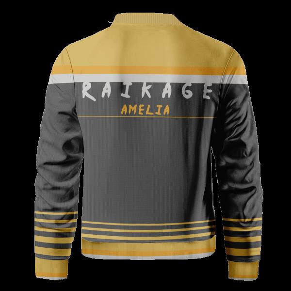 personalized raikage bomber jacket 729105 - Anime Jacket