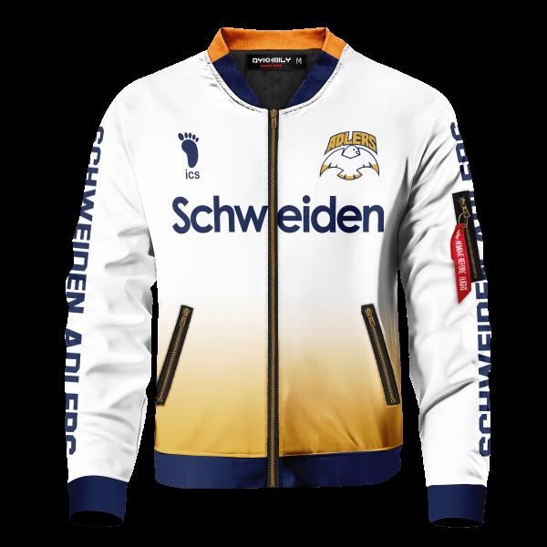 personalized schweiden adlers bomber jacket 270908 - Anime Jacket