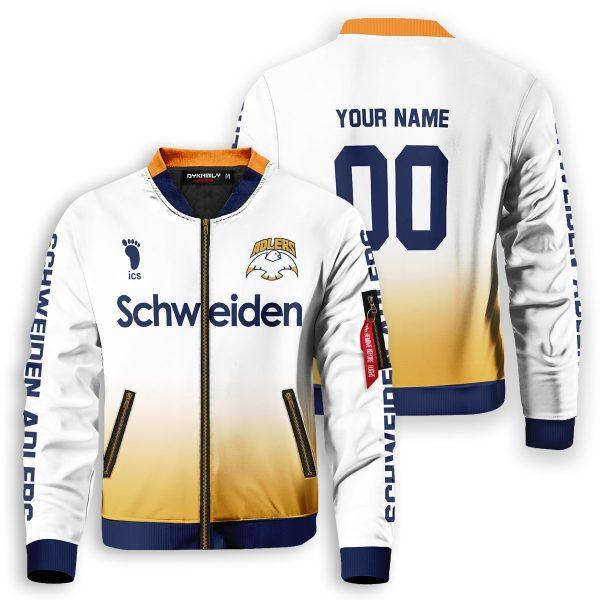 personalized schweiden adlers bomber jacket 518812 - Anime Jacket