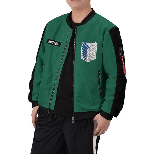 personalized scouting legion bomber jacket 115029 - Anime Jacket