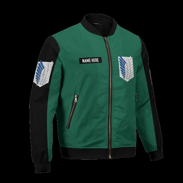 personalized scouting legion bomber jacket 127058 - Anime Jacket