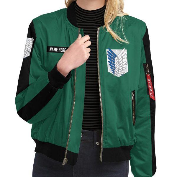 personalized scouting legion bomber jacket 249811 - Anime Jacket